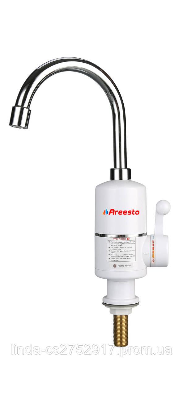 Проточный водонагреватель-кран Areesta AR-3D1-1, мгновенный водонагреватель-кран купить в Одессе
