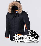 Braggart - Arctic 4576 | Парка мужская черная