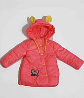 Курточка для девочки  670 весна-осень, размеры на рост от 86 до 98 возраст от 1 до 4 лет, фото 1