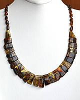 Ожерелье из натурального балтийского янтаря