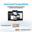 Кабель Promate linkMate-U2M USB-microUSB 1.2 м Gold, фото 5