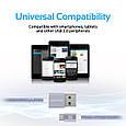 Кабель Promate linkMate-U2M USB-microUSB 1.2 м Silver, фото 7