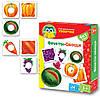 Умнички «Фрукты, овощи», Vladi Toys