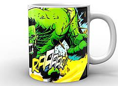 Кружка Geek Land белая Халк Hulk comics HU.02.002