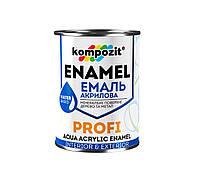 Емаль акрилова PROFI Чорна /глянцева/ (0.8л)