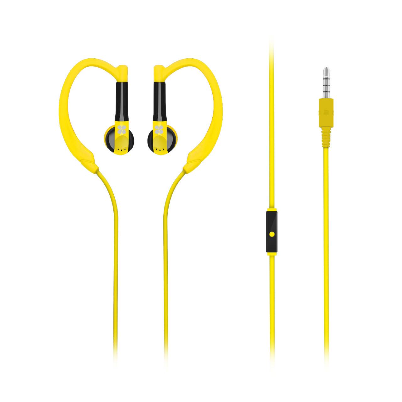 Наушники PromateGaudy Yellow