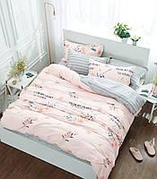 Комплект постельного белья сатин фотопринт Нежность