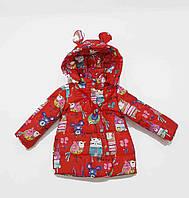Курточка для девочки  670a весна-осень, размеры на рост от 86 до 104 возраст от 1 до 4 лет, фото 1