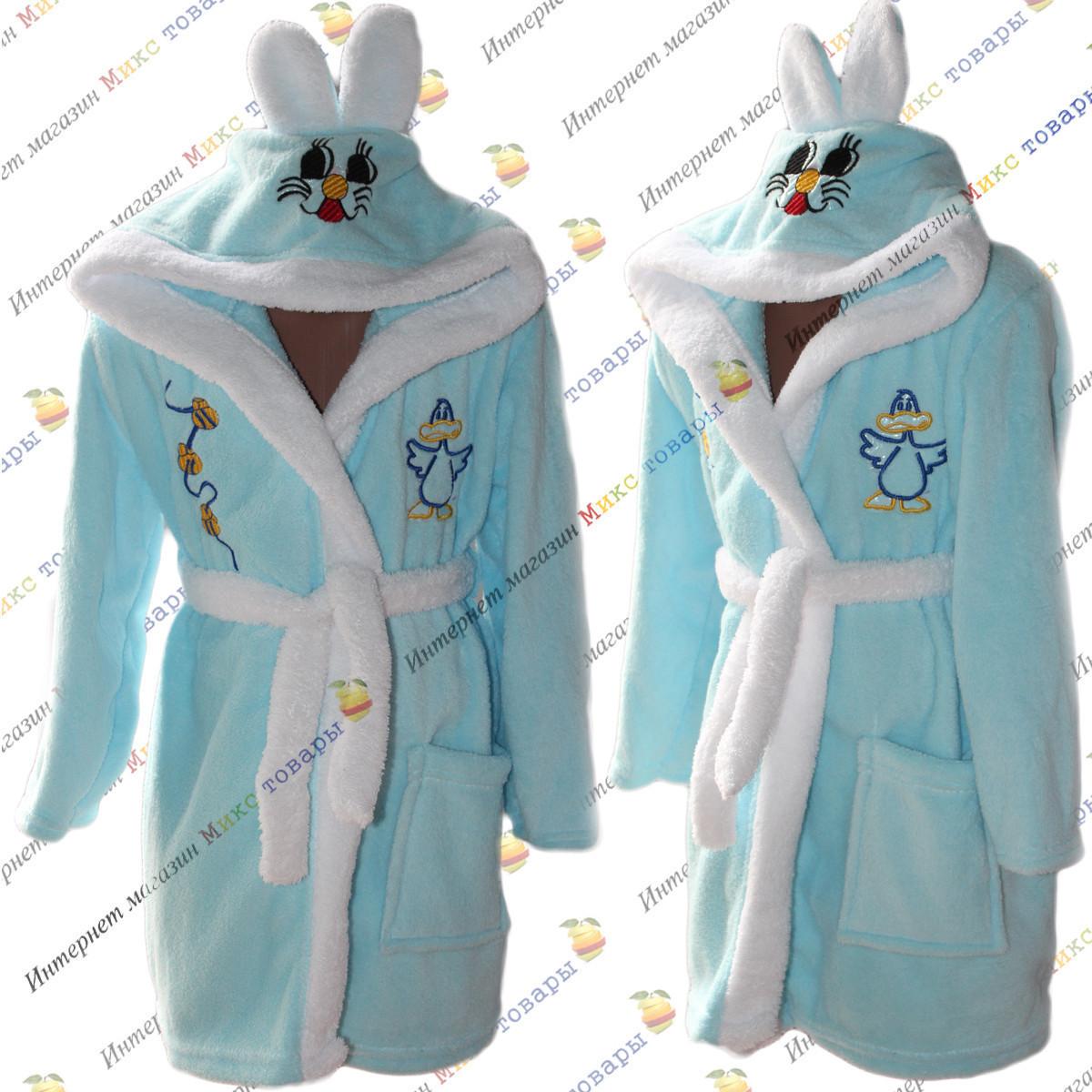 Детские халаты для мальчиков от 1 до 4 лет