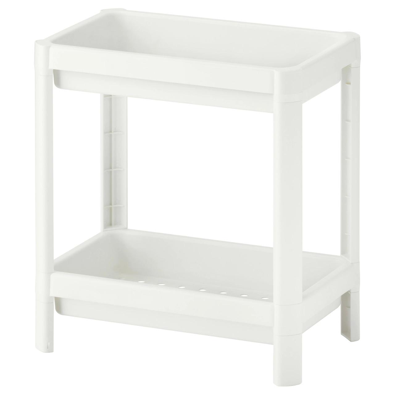 ВЕСКЕН Стеллаж, белый, 23x40 см 00324325 IKEA, ИКЕА, VESKEN