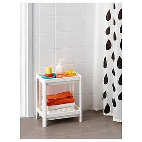 ВЕСКЕН Стеллаж, белый, 23x40 см 00324325 IKEA, ИКЕА, VESKEN, фото 2