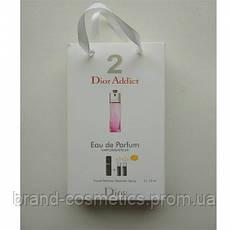 Парфюмированная вода с феромонами Dior Dior Addict 2 3х15 мл женская
