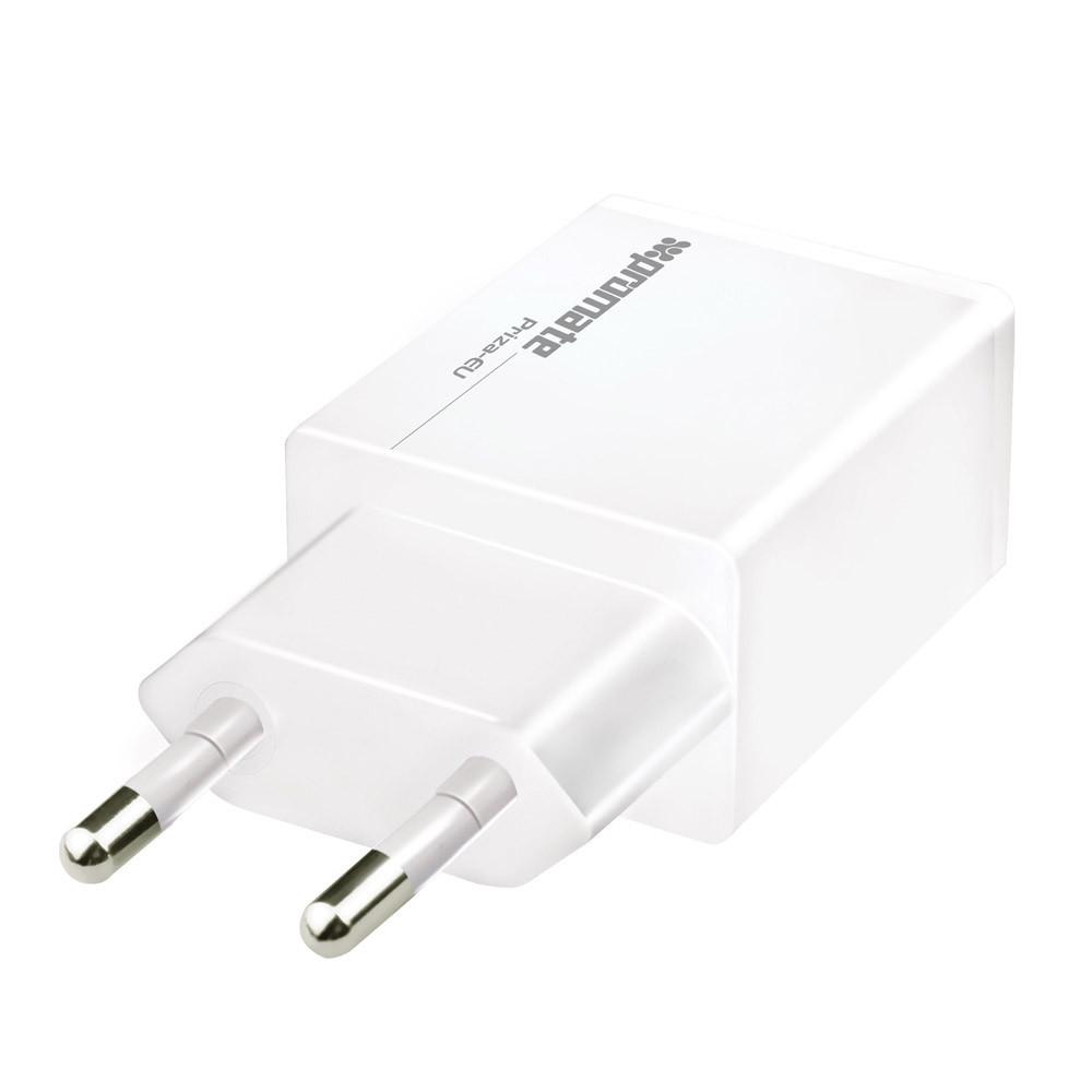 Зарядное устройство Promate Priza.EU White