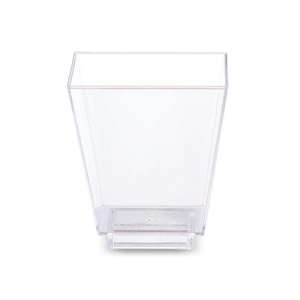Креманки Bonita пластиковые 6 шт 65 мл прозрачные (02)
