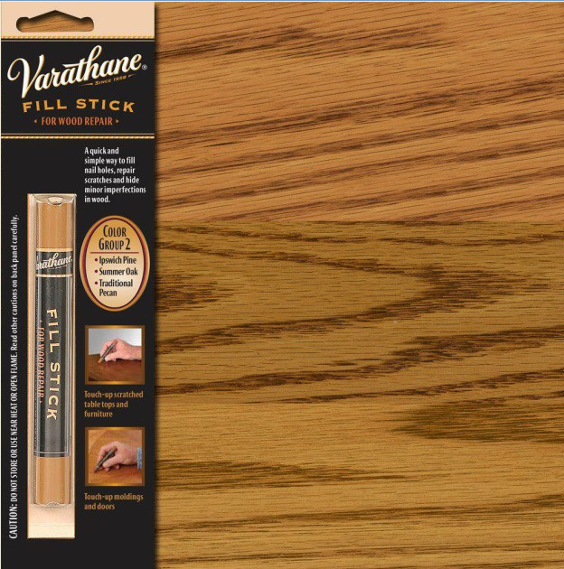 Олівець-реставратор восковий VARATHANE WOOD CARE для меблів колір група 2 16гр