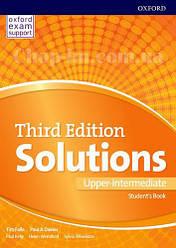 Solutions Third Edition Upper-Intermediate Student's Book / Учебник