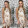 Нежное платье с цветочными узорами ан-180386-1