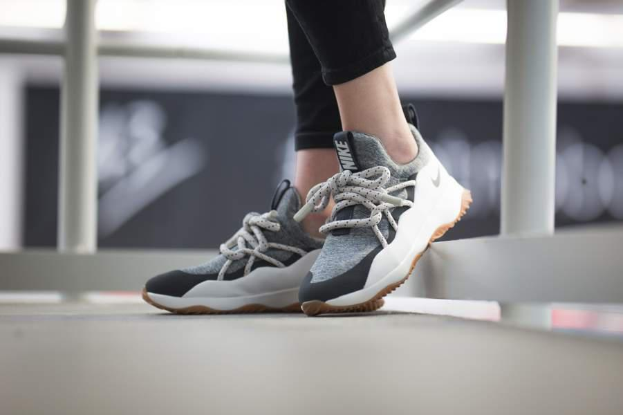 "Кроссовки Nike Wmns City Loop ""Summit White/Anthracite - Cool Grey"""