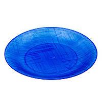 Тарелка Bonita пластиковая 20 см синяя