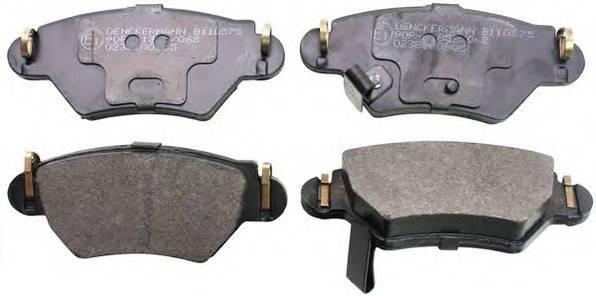 Тормозные колодки задние Opel Astra G 98- 2.0I, DI 16V / Zafira ( дисковые), фото 2