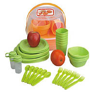 Набор пластиковой посуды для пикника 48 предметов