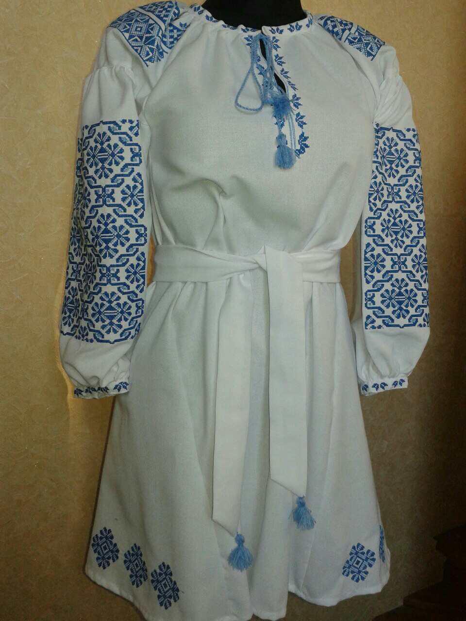 """Жіноче вишите плаття """"Нейліс"""" (Женское вышитое платье """"Нейлис"""") PU-0021"""