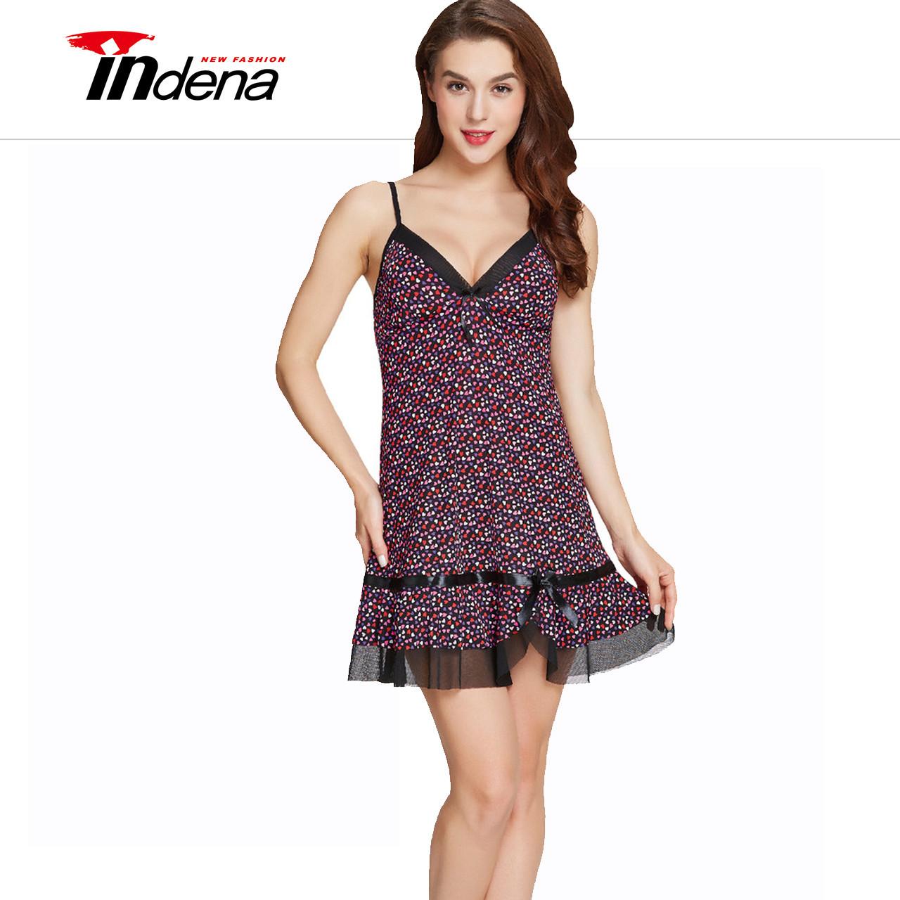 Жіночий комплект (трусики і нічна сорочка) Марка «INDENA» Арт.9071