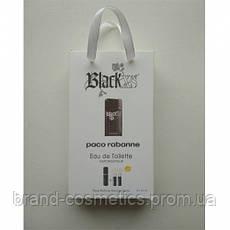 Туалетная вода с феромонами Paco Rabanne Black XS 3х15 мл мужская