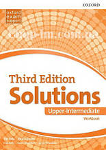 Solutions Third Edition Upper-Intermediate Workbook / Рабочая тетрадь