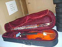 Скрипка Rafaga АF 4/4 в кофре, тигровая