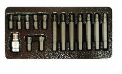 Набір біт KingROY 15пред. HEX  (31558) (Н4-Н12)