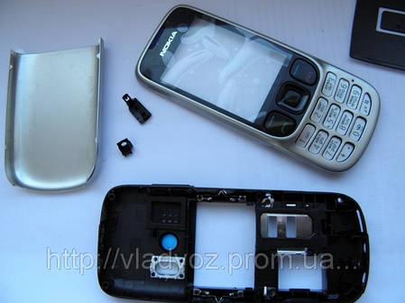 Корпус Nokia 6303 металлик с клавиатурой class AAA, фото 2
