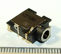 A042 Аудио разъем гнездо под 3х конт. штекер 3,5 мм для ноутбуков 6-PIN Lenovo HP DELL Samsung Asus Acer 5741