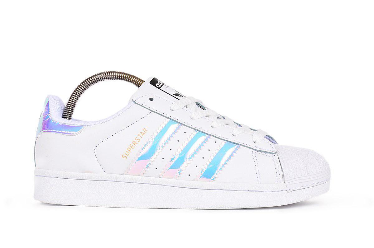 Женские кроссовки Adidas Superstar Tornasol (реплика)