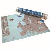 Скретч Карта Европы (ENG)