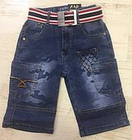 Джинсовые шорты для мальчика оптом, F&D, 104-134 см,  № F284, фото 1