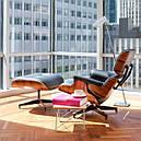 Кресло дизайнерское Релакс с оттоманкой, фото 2