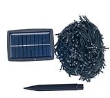 Светодиодная гирлянда на солнечной энергии 300 led RGB 30м, фото 2