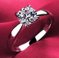 Кольцо с камнем бижутерия Каблучка , фото 1