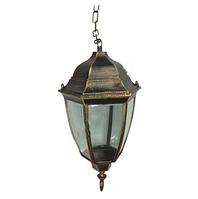 Уличный подвесной светильник Кантри PL5105 античное золото, Е27 металл