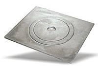"""Плита чугунная """"Украина ТМ"""" одноконфорочная  360*370 мм (вес - 10 кг)"""