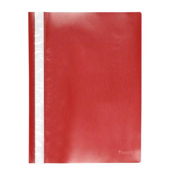 Скоросшиватель Axent А4 красный усы, PP (1317-24-A)