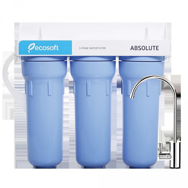 Трехступенчатый фильтр доочистки воды Ecosoft Absolute