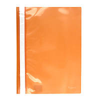 Скоросшиватель Axent А4 оранжевый усы, PP (1317-28-A)