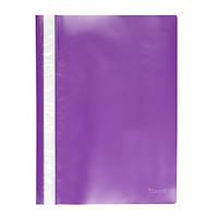 Скоросшиватель Axent А4 фиолетовый усы, PP (1317-29-A)