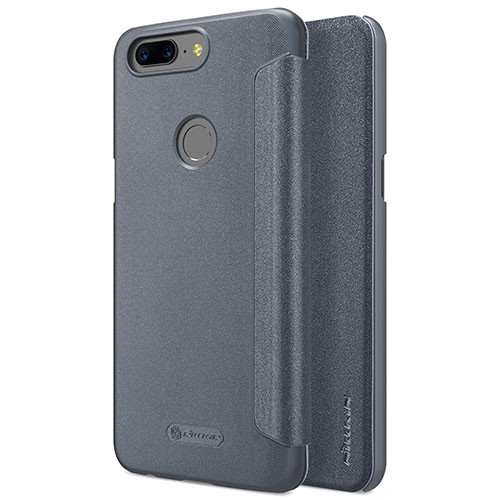 Чехол-книжка Nillkin Sparkle Black для OnePlus 5T