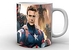 Кружка GeekLand белая Железный Человек Iron Man Стив Роджерс и Тони Старк Мстители IM.02.083