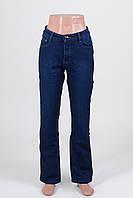 Женские джинсы на флисе больших размеров