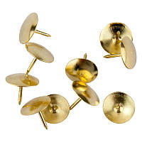 Кнопки Axent золото медные 100шт (4212-A)