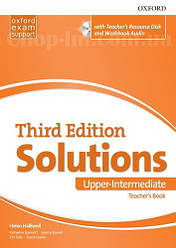 Solutions Third Edition Upper-Intermediate Teacher's Book with Teacher's Resource Disc and Workbook Audio